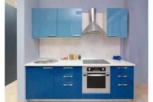 Яркая кухня с глянцевым фасадом Брайт - Мебельная фабрика «Хомма»