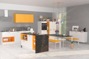 Яркая кухня Торино - Мебельная фабрика «Кухни Вардек»