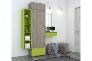 Яркая прихожая Сингл - Мебельная фабрика «Первая мебельная фабрика»