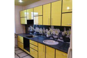 Яркая прямая кухня - Мебельная фабрика «IDEA»