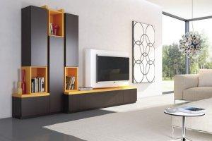 Яркая стенка в гостиную - Мебельная фабрика «NIKA premium»