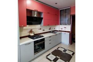 Яркая угловая кухня - Мебельная фабрика «ЭльфОла»