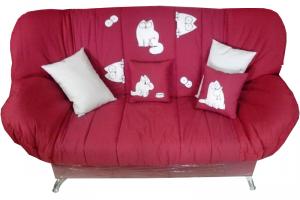 Яркий клик-кляк диван Котик  - Мебельная фабрика «Диваны от Ани и Вани», г. Новосибирск