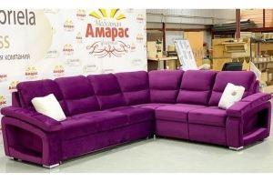 Яркий модульный диван - Мебельная фабрика «Амарас»