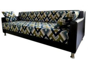 Яркий прямой диван в гостиную - Мебельная фабрика «Ритм»