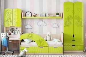 Детская Юниор-3 яркая - Мебельная фабрика «МиФ»