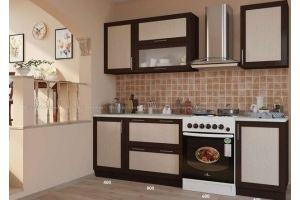 Кухня прямая Забава погонаж - Мебельная фабрика «Мебель Поволжья»
