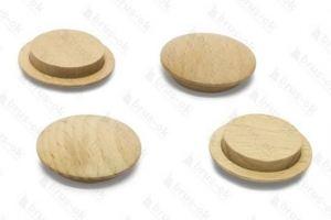 Заглушка деревянная Бук - Оптовый поставщик комплектующих «БРУС-ОК»