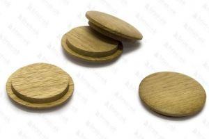 Заглушка деревянная Дуб - Оптовый поставщик комплектующих «БРУС-ОК»