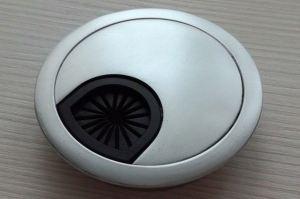 Заглушка кабель-канала Хром-60М - Оптовый поставщик комплектующих «ColorDesk»