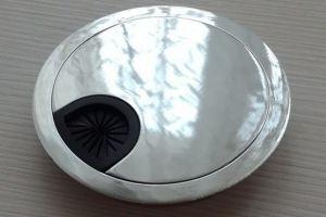 Заглушка кабель-канала Хром-80 - Оптовый поставщик комплектующих «ColorDesk»