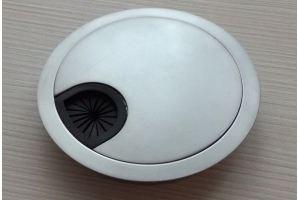Заглушка кабель-канала Хром-80М - Оптовый поставщик комплектующих «ColorDesk»