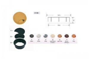 Заглушка пластиковая из двух частей для ком-каб MESAN - Оптовый поставщик комплектующих «СЛ Дон»