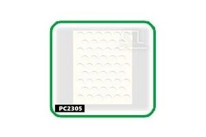 Заглушки, 14 мм, parlak beyaz  PC2305 - Оптовый поставщик комплектующих «СЛ Дон»