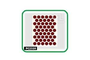 Заглушки, 14 мм,parlak bordo  РС2320 - Оптовый поставщик комплектующих «СЛ Дон»