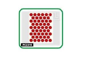 Заглушки, 14 мм, parlak kirmizi РС2315 - Оптовый поставщик комплектующих «СЛ Дон»