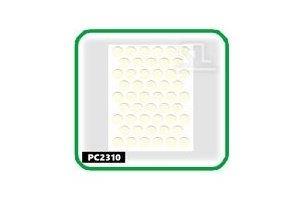 Заглушки, 14 мм, parlak krem РС2310 - Оптовый поставщик комплектующих «СЛ Дон»