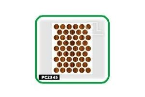 Заглушки, 14 мм,parlak zeytin PC2345 - Оптовый поставщик комплектующих «СЛ Дон»