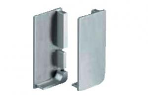 Заглушки для профиля 8006 (лев+прав)  Артикул: CF8006TP50SC - Оптовый поставщик комплектующих «Аметист»