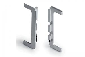 Заглушки для профиля 8007 (лев+прав) Артикул: CF8007TP50S - Оптовый поставщик комплектующих «Аметист»