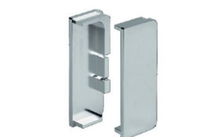 Заглушки для профиля 8007 (лев+прав)  Артикул: CF8007TPI50SC - Оптовый поставщик комплектующих «Аметист»