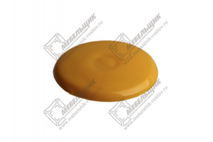 Заглушки под конфермат Желтый - Оптовый поставщик комплектующих «Мебельщик»