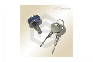 Замок для стеклянной двери с мастер-ключ 409 - Оптовый поставщик комплектующих «АэЛь Компани»