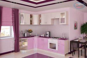 Кухня угловая Зефир - Мебельная фабрика «Экспо-мебель»