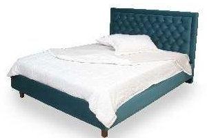 Зеленая кровать Грета 2 - Мебельная фабрика «Darna-a»