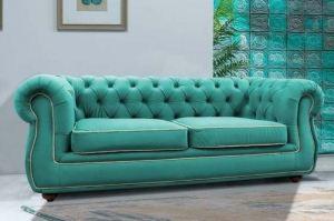 Зеленый диван Честер - Мебельная фабрика «Darna-a»