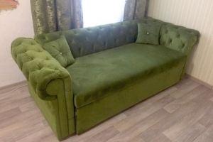 Зеленый диван в стиле Честер - Мебельная фабрика «Столы у Светланы»