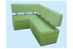 Зеленый кухонный уголок - Мебельная фабрика «Valery»