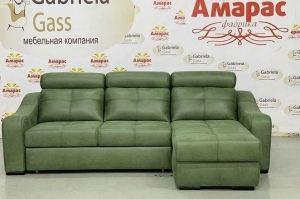 Зеленый модульный диван - Мебельная фабрика «Амарас»