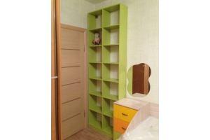 Зеленый стеллаж в детскую - Мебельная фабрика «Народная мебель»