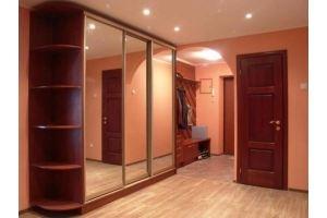 Зеркальная прихожая со шкафом-купе - Мебельная фабрика «Мебелина»