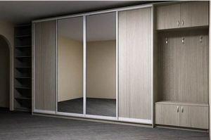 Зеркальный шкаф-купе - Мебельная фабрика «Подольск»