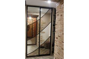 Зеркальный шкаф-купе в прихожую - Мебельная фабрика «Симбирский шкаф»