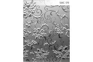 Зеркало сатинированное с узором SMC-179 б/цвет - Оптовый поставщик комплектующих «Адэм glass»
