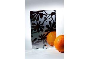 Зеркало сатинированное с узором SMC-012 графит - Оптовый поставщик комплектующих «Адэм glass»