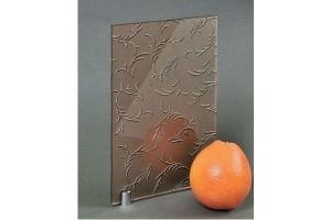 Зеркало сатинированное с узором SMC-149 бронза - Оптовый поставщик комплектующих «Адэм glass»