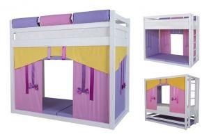 Кровать-перевертыш в детскую Жасмин - Мебельная фабрика «Мебель Холдинг»