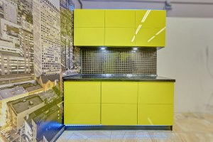 Желтая кухня Экспрессия - Мебельная фабрика «Магия кухни»