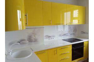 Желтая угловая кухня - Мебельная фабрика «МК АртСити»