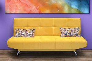 Желтый диван Глория - Мебельная фабрика «Витэк»