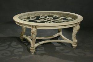 Журнальный стол 4300 слоновая кость - Мебельная фабрика «Санта Лучия»