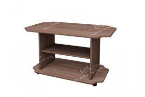 Журнальный стол Агат с полкой (ЛДСП) - Мебельная фабрика «Контур»