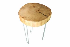 Журнальный стол из массива - Мебельная фабрика «Геометрия ЛОФТ»