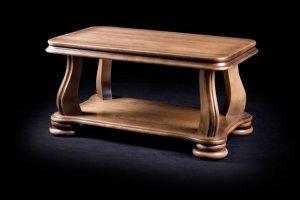 Журнальный стол из натурального дерева Орфей - Мебельная фабрика «Винтер-Мебель»