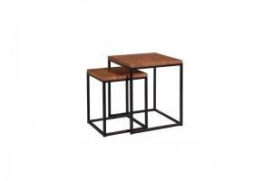 Журнальный стол Лофт квадратный - Мебельная фабрика «Ельская мебельная фабрика»