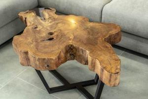 Журнальный стол массив Кешью - Мебельная фабрика «КРИСТИ»